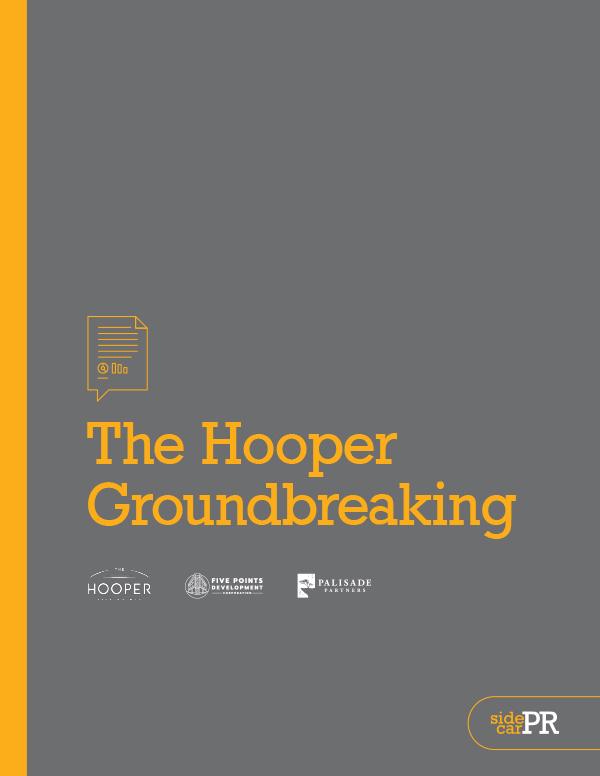 The Hooper Groundbreaking Report from SideCar PR