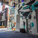 street art at Dairy Block