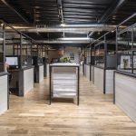 A custom office interior