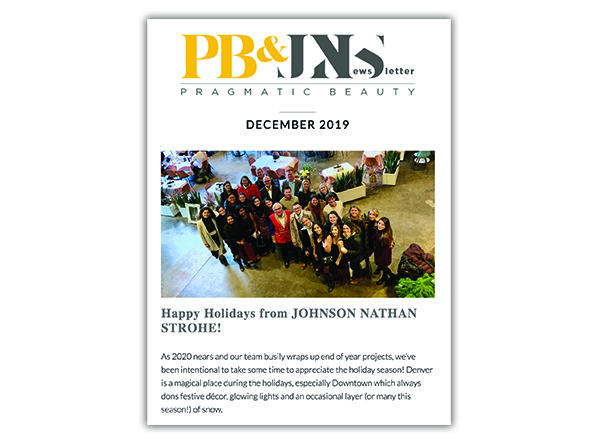 The JNS monthly Newsletter by SideCar PR