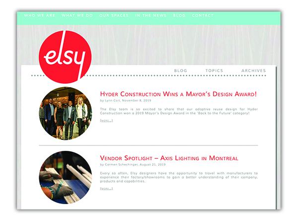 The Elsy Studios Blog, by SideCar PR