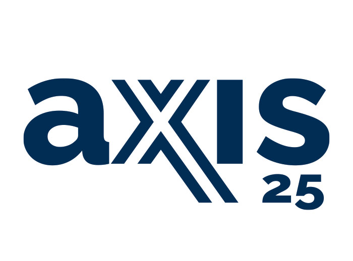 Graphic Design, logo treatments, Axis 25