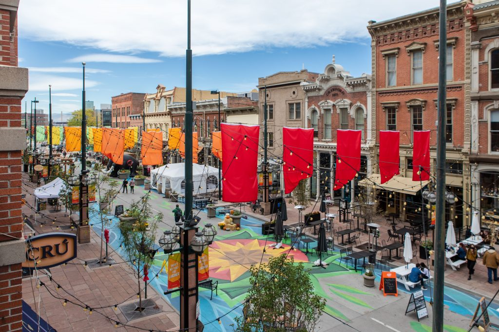 A photo of larimer square